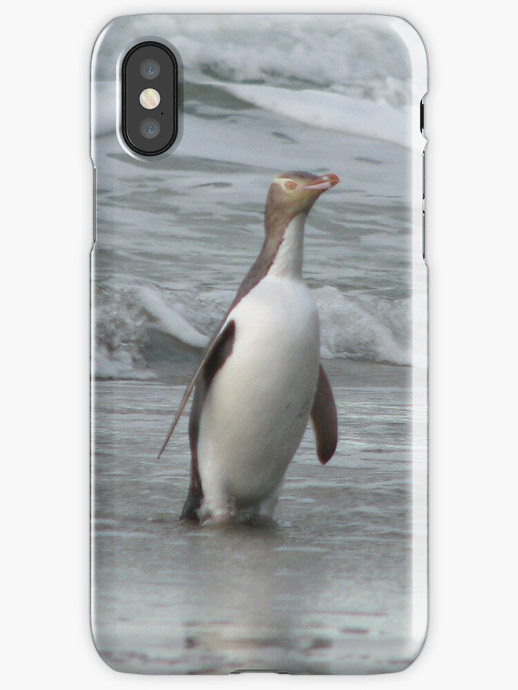 Penguin iPhone case by Neil Crittenden