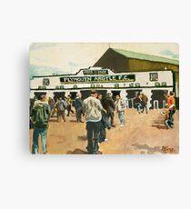 Plymouth Argyle Canvas Print