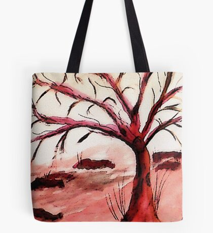 Winter has arrived, watercolor Tote Bag