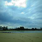 Incoming Storm - Toowoon Bay Beach by Jacob Jackson