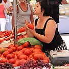 Come try my tomatoes! by erwina
