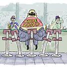 Wide Load Cartoon! by weirdpuckett