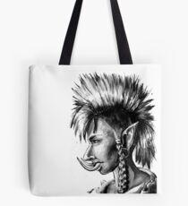 Punk Troll Tote Bag
