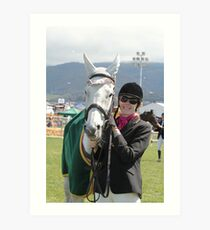 My Pony Calendar 2012 - Royal Hobart Show 2011-12 Art Print