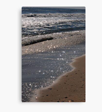 Sparkling Shores Canvas Print