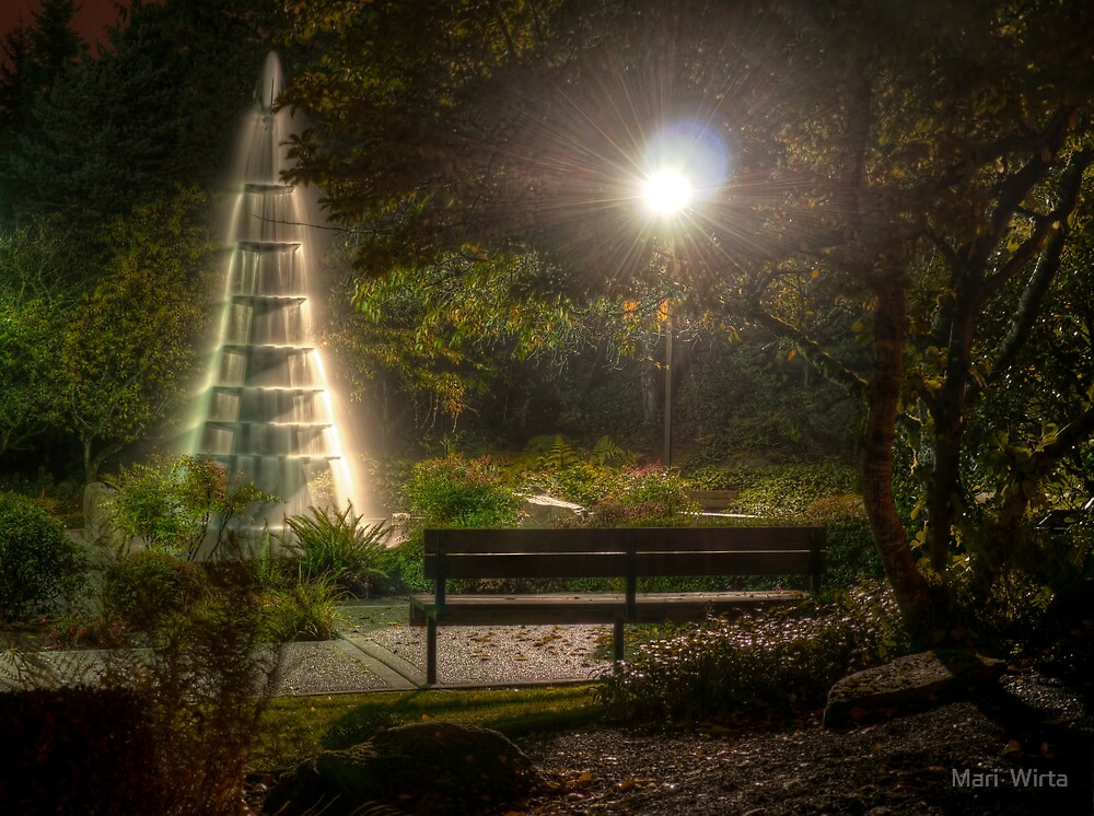 Seat at the Fountain by Mari  Wirta