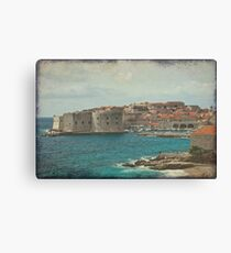 Medieval Old Town of Dubrovnik Canvas Print