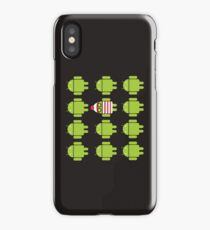Where's Waldroid? iPhone Case/Skin