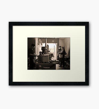 A Short Black Please :-) Framed Print
