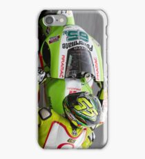 Loris Capirossi in Laguna Seca iPhone Case iPhone Case/Skin
