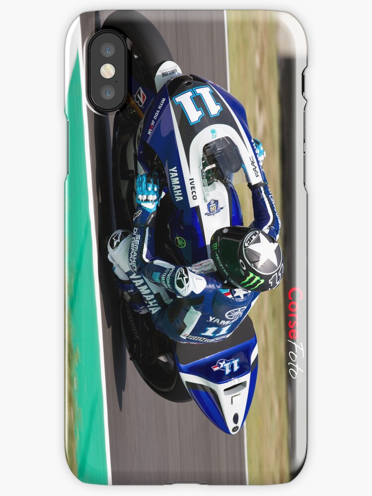 Ben Spies in Mugello iPhone Case by corsefoto