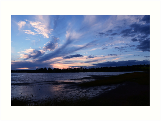 October Sunset on Prince Edward Island by nadinestaaf