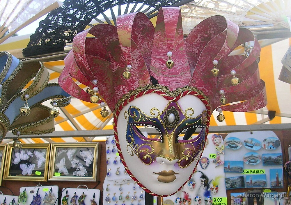 mask by sharon Wingard