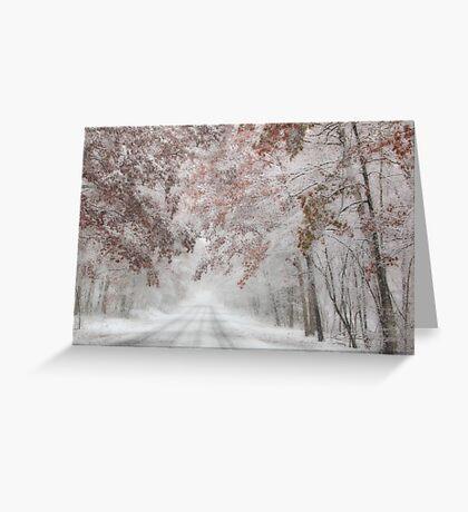 Autumn Wonderland Greeting Card