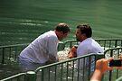 Baptised in the Jordan river #10 by Moshe Cohen