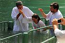 Baptised in the Jordan river #14 by Moshe Cohen