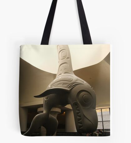 Haida Sculpture- Killer Whale Tote Bag