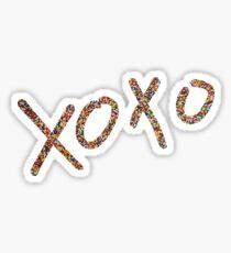 xoxo sprinkles Sticker