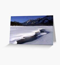 Winter Scene Germany Greeting Card