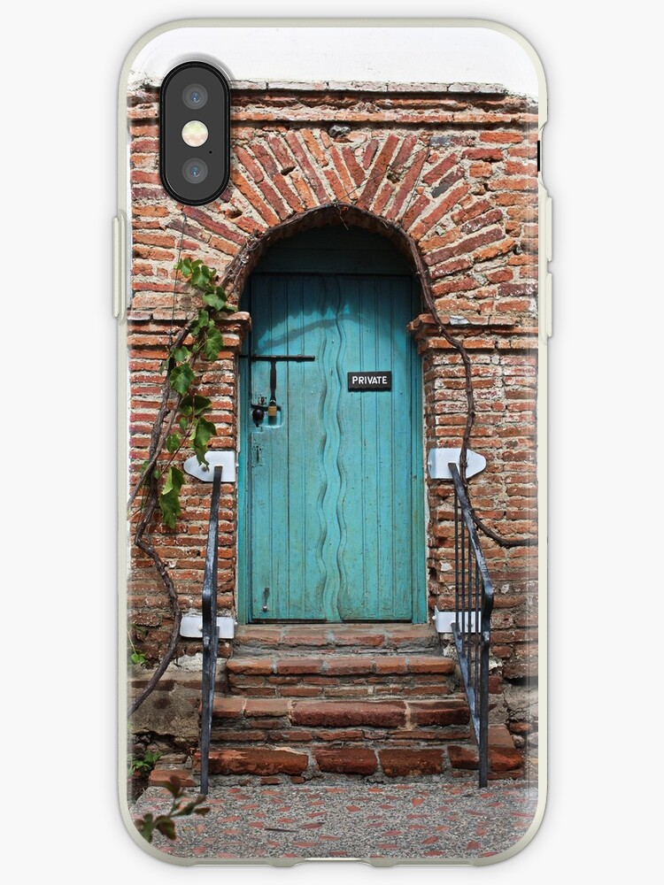 Private Door at the Mission by Martha Sherman