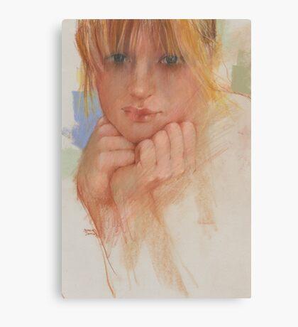 eyes open wide Canvas Print