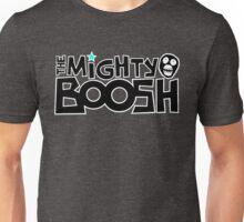 The Mighty Boosh – Black Writing & Mask Unisex T-Shirt