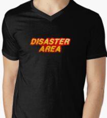 Disaster Area Men's V-Neck T-Shirt