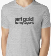 Ari Gold is my Agent (Black) Men's V-Neck T-Shirt