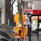 resting fiddle by Mick Kupresanin
