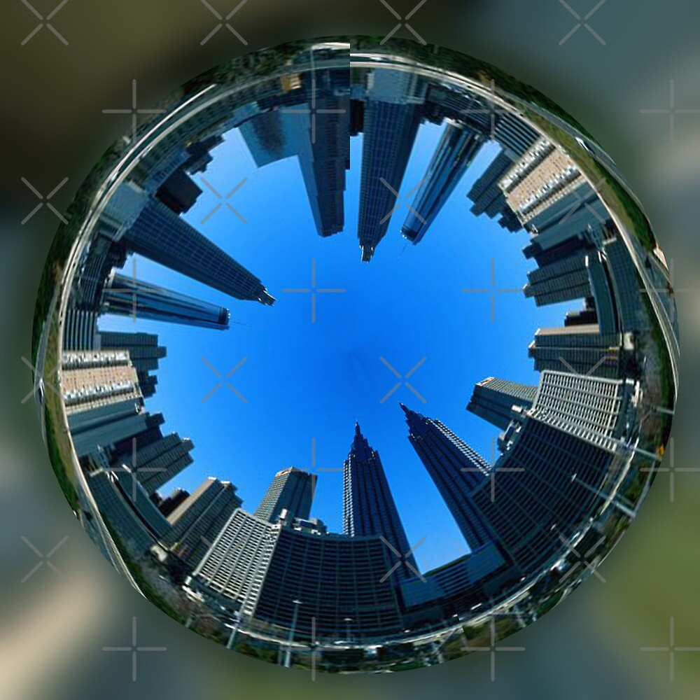 The city closes in by Kestrelle