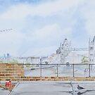 """London rooftops..Tower Bridge"" by Alan Harris"