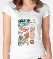 English Breakfast Women's Fitted Scoop T-Shirt