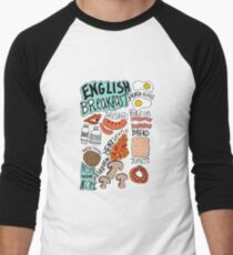 English Breakfast Men's Baseball ¾ T-Shirt