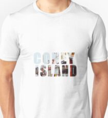 Coney Text Slim Fit T-Shirt