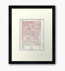 USGS Topo Map District of Columbia DC Anacostia 255997 1965 24000 Framed Print