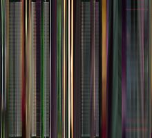 Moviebarcode: The Animatrix 3 The Second Renaissance Part II (2003) by moviebarcode