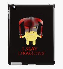I Slay Dragons! iPad Case/Skin