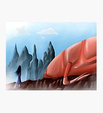 It- And the Glass Mountains Photographic Print