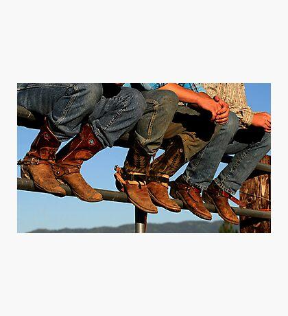 Cowboy Boots Photographic Print