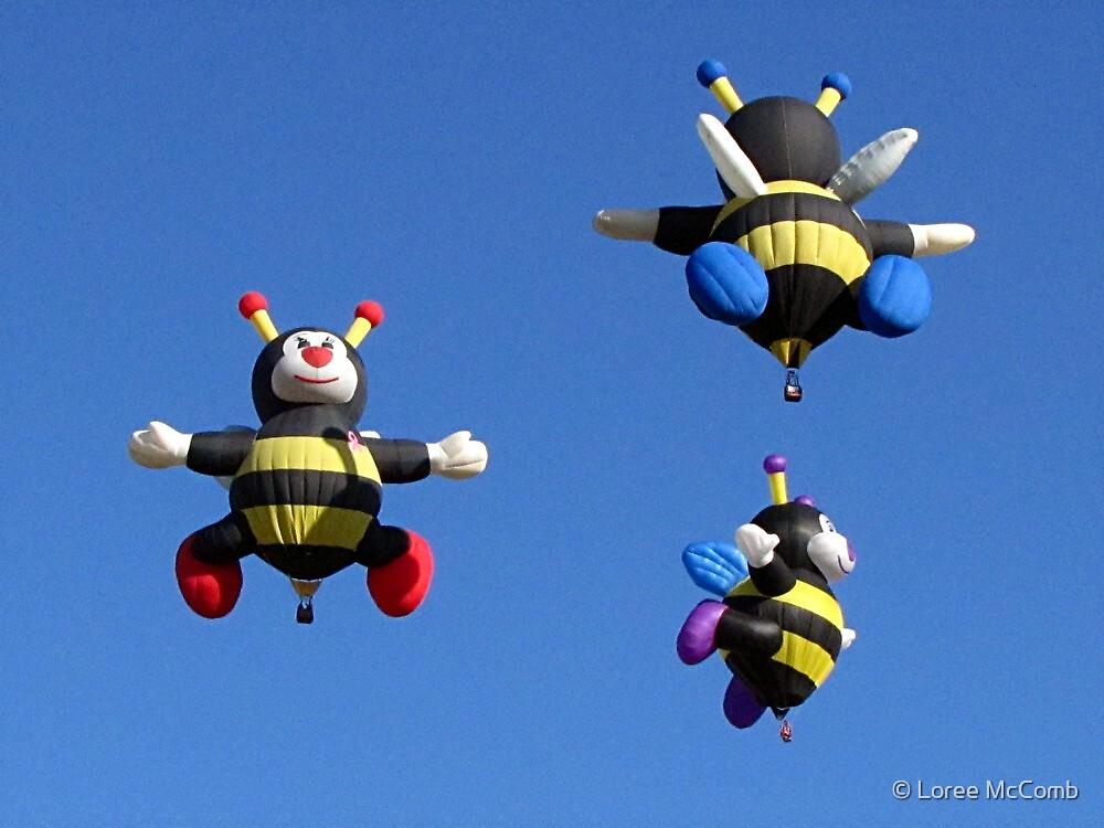 Wonderful Bee Family by © Loree McComb