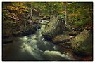 Above Mohawk Falls (version II) Oct 2011 by Aaron Campbell