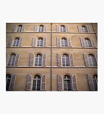 Parisian Windows Photographic Print