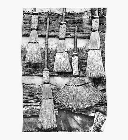 Old Brooms Poster