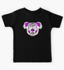 Pink - Day of the Dead Koala Kids Clothes
