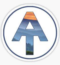 Pegatina Sendero de los Apalaches - Smoky Mountains