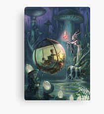 The Mushroom Fairy Canvas Print