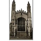 kings chapel cambridge frame by Ilapin