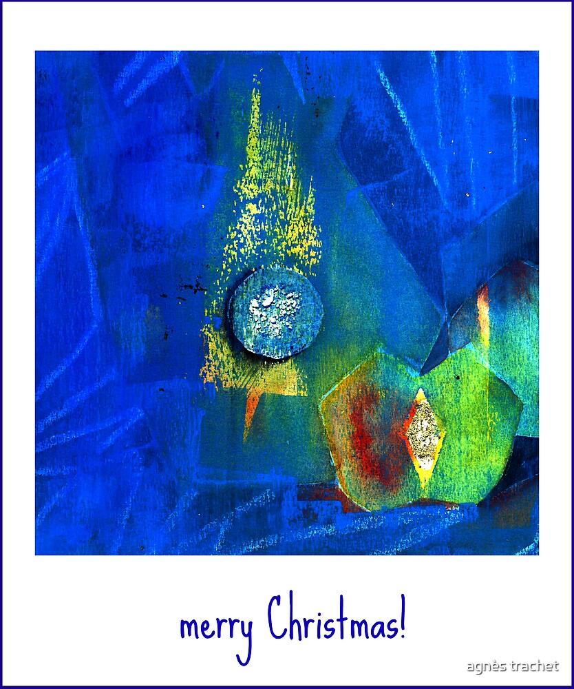 blue Christmas by agnès trachet
