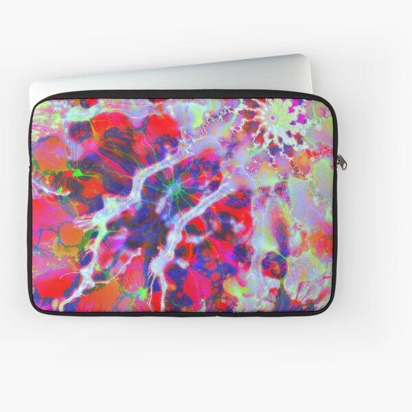 Fractalize Crimson Laptop Sleeve
