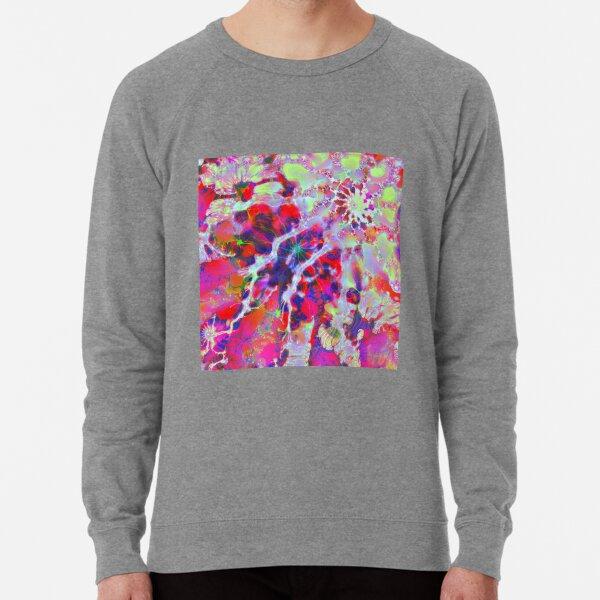 Fractalize Crimson Lightweight Sweatshirt